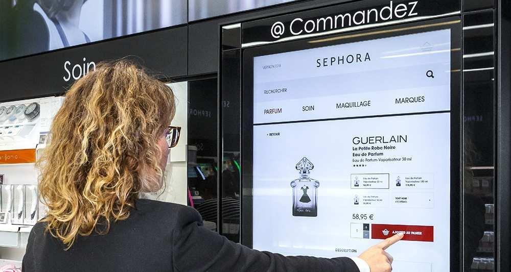 Un magasin high-tech pour Sephora