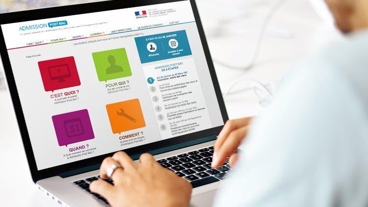 Ouverture d'APB, le portail digital pour s'orienter après le bac