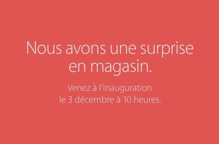 Le nouveau Apple Store de Saint-Germain