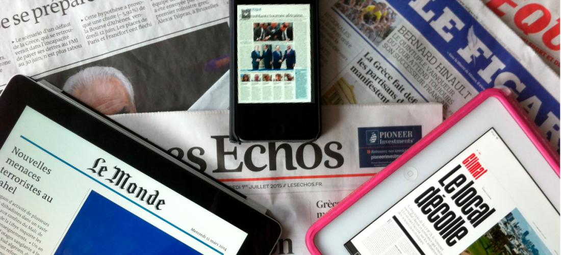 Reconversion numérique des journaux : comment s'en sort la presse française ?