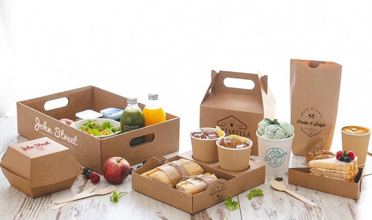 Provoquez la décision d'achat avec des emballages alimentaires spécifiques